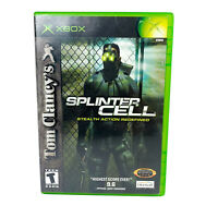 Tom Clancy's Splinter Cell Stealth Action Redefined | Microsoft Xbox Original