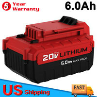 New PCC685L For Porter Cable 20V Max LITHIUM 6.0AH Battery PACK PCC681L PCC682L