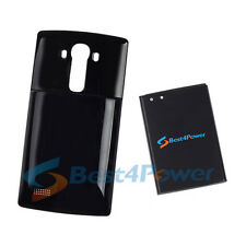 9250mAh Extended Double layer Battery+Black Case For LG G4 VS986 H810 LS991 H811