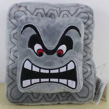 Super Mario Bros. World 8.5'' Thwomp Dossun Pillow Plush Toy Cushion Nintendo