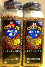 Mccormick Grill Mates Montreal Steak Seasoning No MSG BBQ 2x 29oz Bottle
