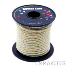 30M Roll 1000lb Braided Kevlar Line Cord For Fishing Kiting Camping Guy Lines