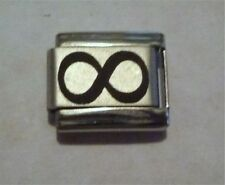9mm Classic Size Italian Charms L44 Infinity Symbol