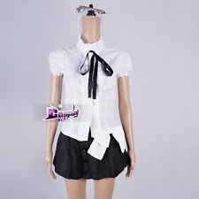 Black And White Shakugan no Shana Lolita Skirt Cosplay Girls Anime Party Costume