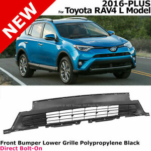 For 16-18 RAV4 LE Style Front Bumper Lower Grille Air Flow Bottom Grill 5Dr
