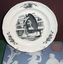 """Wedgwood Picasso Collector Plate Chicago Civic Centre Queens Ware 10.25"""" U.K New"""