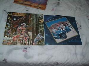 IRON MAIDEN Somewhere In time '86 LP ORIGINAL US PROMO press MINT