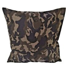 Camouflage-Army Cotton Green/Beige Square Pillow/Cushion Cover-Case/Pillowcase