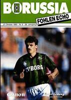 BL 90/91 Borussia Mönchengladbach - Bayer 04 Leverkusen, 27.10.1990