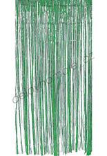 Metallic Green Foil Fringe Door Room Curtain St Patricks Birthday Party Decorate