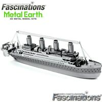 Metal Earth Titanic Ship 3D Laser Cut DIY Model Hobby Build Building Kit Puzzle