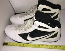 NIKE Mens Sz. 21 FLY WIRE Shoes White Black