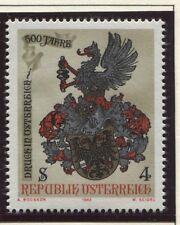 Österreich Austria 1701 500 J. Druck in Österreich - Buchdruckerwappen   1982 **