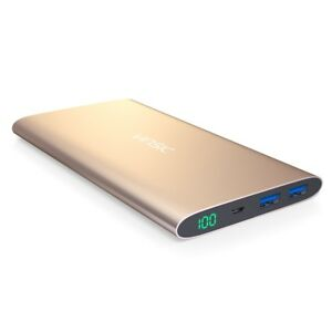 (SALE) 12000mAh Prestige Series Power Bank (Gold)