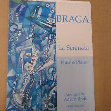 Flûte Braga La Serenata, flûte + PIANO, Adrian Brett, Fentone 281