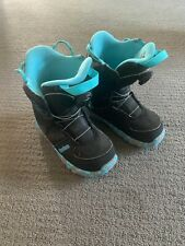 New listing 2018 Burton Grom Boa Youth Snowboard Boots - Size 3K - Used