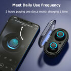 5.0 TWS Wireless Bluetooth Touch control 9D Stereo Headset Waterproof Earbuds