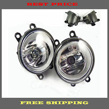 For Lexus Toyota Camry Yaris New Fog Light Lamp Left Right Side Set of 2 PCS