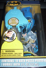 New in Box Batman Bath Set 3D Bath Puzzles Pieces Bubble Bath