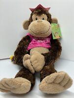 """Cheeky Charlie"" Carmen B-Day Edition - Classic Hanging Chimp Monkey by Aurora"