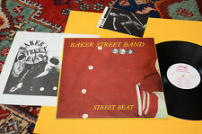 baker street band lp street beat orig italy garage 1982 NM MATERIALI SONORI BOOK