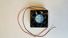 Sinwan SD6025PT-12M Brushless DC Fan 12V, 0.12A, 2 Wire Leads (Lot of 4)