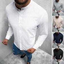 Freizeithemd Langarmhemd Hemd Shirt Casual Classic Herren OZONEE O/3014Z