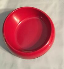 (1) Petmate Red Melamine Heavy Plastic Bowl Xs 4 Ounce No Skid Dish