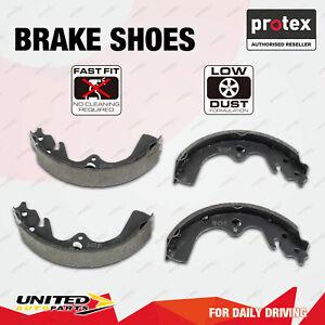 4pcs Protex Rear Brake Shoes for Peugeot 306 1.8L Sedan With Girling Brakes