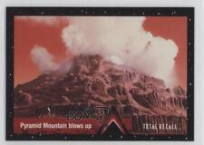 1990 Pacific Total Recall #104 Pyramid Mountain Blows Up Non-Sports Card 0b5