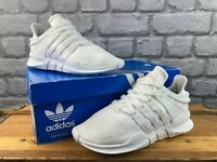 ADIDAS LADIES WHITE EQT SUPPORT ADV TRAINERS VARIOUS SIZES  T