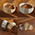 Punk Women Ladies Gold Silver Noble Open Wide Bangle Cuff Jewellery Bracelet New