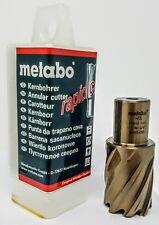 """METABO 626554000 HSS 1-1/16"""" X 1 3/16"""" Long HSS Annular Cutter"""