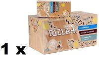 20 Rizla NATURA ULTRASLIM 5.7mm filter tips,brown (2400 filters - 1 Full Box)