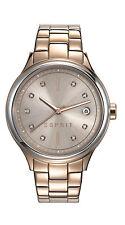 Runde bis 30 m (3 ATM) wasserbeständige Esprit Armbanduhren mit Datumsanzeige