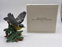 Lenox Magnolia Warbler Porcelain Figurine Original Box Garden Bird Collection