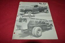 Good Road Machinery Corporation The Jed Truck Bed Queen Brochure FCCA