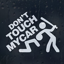 Funny Don't Touch My Car Car Decal Vinyl Sticker For Panel Bumper Window