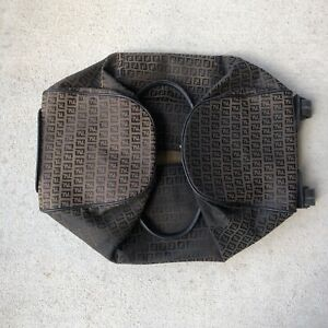 Vintage Fendi Rolling Duffle Bag