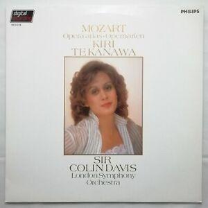 Philips LP 6514 319: Mozart - Opera Arias / Kiri te Kanawa / Colin Davis / LSO