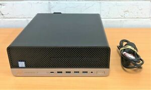 HP ProDesk 600 G3 SFF Desktop Computer - Core i7 7700 / 8GB RAM / 256GB SSD