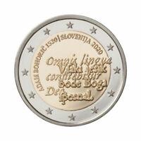 "Slovenia 2 Euro commemorative coin 2020 ""Adam Bohorič"" - UNC  **NEW**"