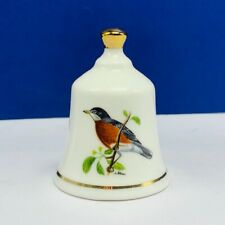Danbury Mint state bird Bell porcelain collection Michigan Robin Mi fine china