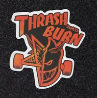 "2 ""Thrash & Burn"" Vinyl Stickers"