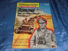 Romanheft 1958 : Soldatengeschichten  Sonderband  Nr. 11 , ROMMEL , 1. Auflage