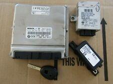 MK1 Rover 75 MG ZT Diesel Engine ECU SET NNN100692 Manual Transmission 1 key.