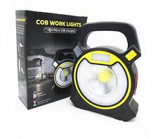 Foco Proyector LED 5W Exterior Iluminacion Foco Luz blanco Frio Batería con Asa