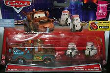 "DISNEY PIXAR CARS ""2-PACK MATER W/ ALLINOL CANS / EDAMAME & DAISU TSASHIMI"