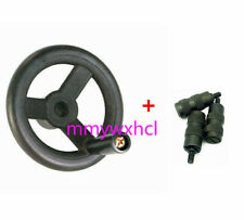 Bridgeport Milling Machine Parts (3×Reverse Knob Assembly) + (1×Feed Hand Wheel)