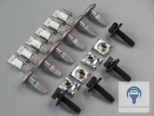 5x PARAURTI POSTERIORE parentesi quadra di interruzione supporto in metallo clip di fissaggio per Mercedes